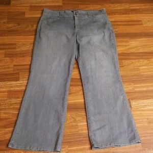 NYDJ Jeans - NYDJ Gray Denim Trousers Sz. 18W